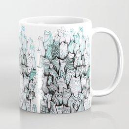 All the cats. Coffee Mug