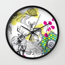 Deer Essaouira Wall Clock