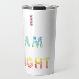 I AM LIGHT Travel Mug