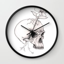 happy thoughts Wall Clock