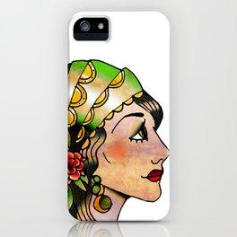 Gypsy Woman iPhone Case
