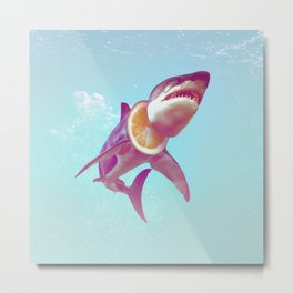 Lemon Shark Metal Print