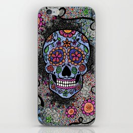 Crazy Skull  iPhone Skin
