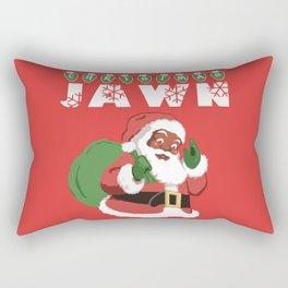 Christmas Jawn Rectangular Pillow