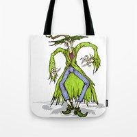 wizard Tote Bags featuring Wizard by RifKhas