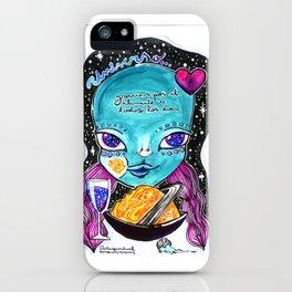 Universo gracias iPhone Case