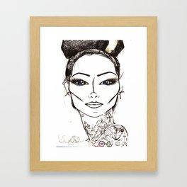 Cherri BOMB Framed Art Print