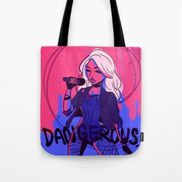 Black Canary Dangerous Tote Bag
