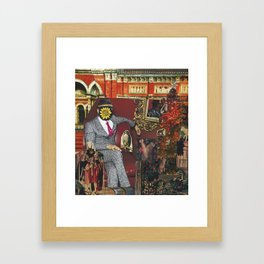 Emperor Framed Art Print