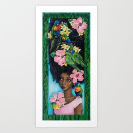 Goddess of Benevolence Art Print