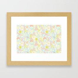 May Blooms Framed Art Print