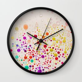 Colorful  Wall Clock