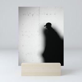 Captured by Shadow Mini Art Print