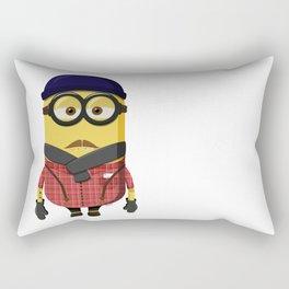 Hipster Minion Rectangular Pillow