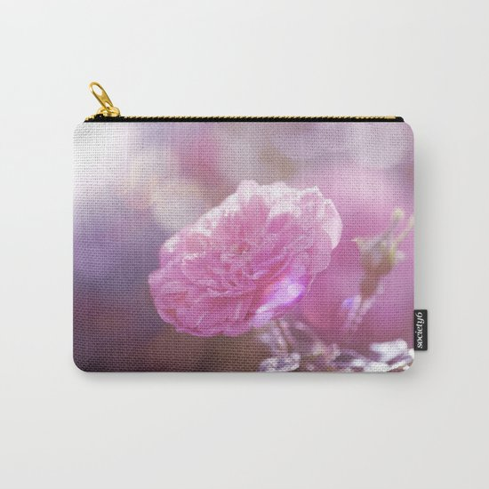 Autumn Roses at backlight  - Roses and Flowers Carry-All Pouch