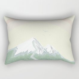 The House In The Mountains Rectangular Pillow