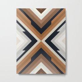 Geometric Art with Bands 03 Metal Print