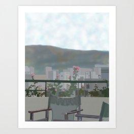 Landscape Project - Tolo Art Print