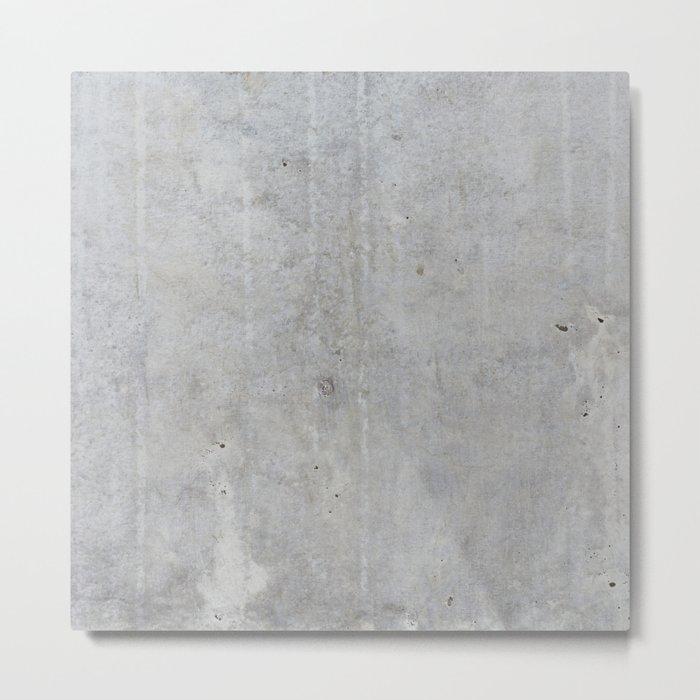 Concrete wall texture Metal Print