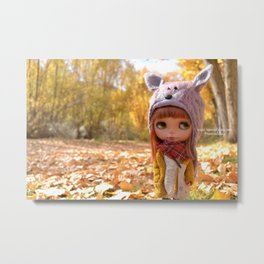 Honey - Autumn nature Metal Print