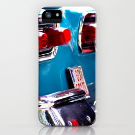 Taillights from a car iPhone Case