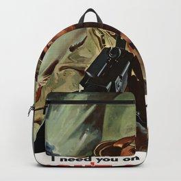 Don't Get Hurt Backpack
