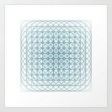 #436 Vortex – Geometry Daily Art Print