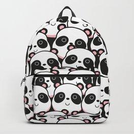I Love Panda Backpack
