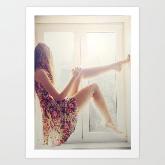Waiting for summer Art Print