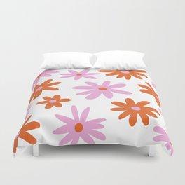 Bright Floral Duvet Cover