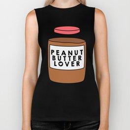 Peanut Butter Lover Biker Tank