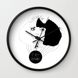 YOU CAN BE ALICE, I'LL BE THE MAD HATTER. Wall Clock