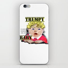 Trumpy Baby Invasion iPhone Skin