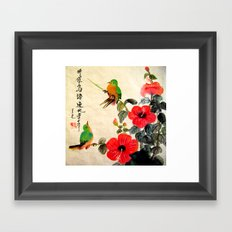 courting season Framed Art Print