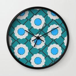 diamondcircle04_03 Wall Clock