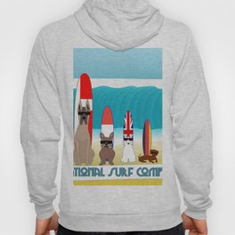 International Surf Competition Dogs Only Hoody