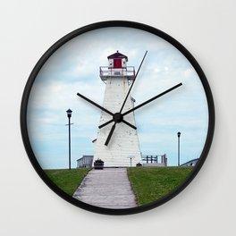 Marine Rail Park Range Light Wall Clock