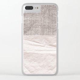 Rose Quartz Clear iPhone Case