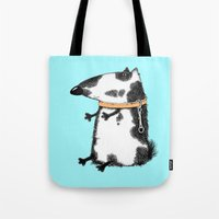 dog Tote Bags featuring DOG by Кaterina Кalinich