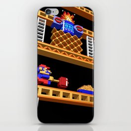 Inside Donkey Kong stage 2 iPhone Skin