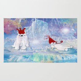 The Ice Party  Rug