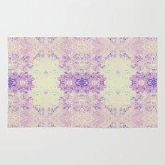 Fuzzy kaleidoscope Rug