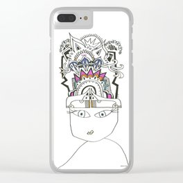 Boss Lady Clear iPhone Case