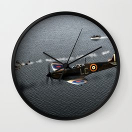 Down In The Channel Wall Clock