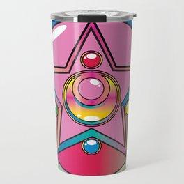 Magical Moon Neon Compact Travel Mug