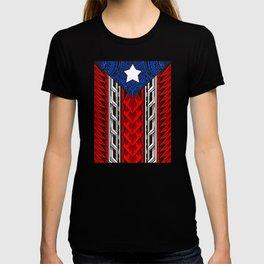 Puerto Rican Tribal Flag - Modern Boricua T-shirt