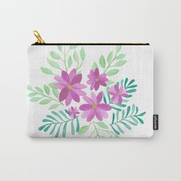 Emma Florals Carry-All Pouch