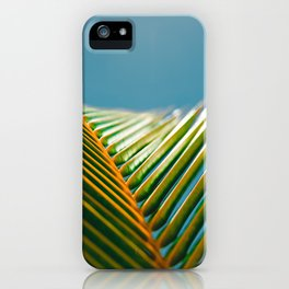 tropical colours iPhone Case