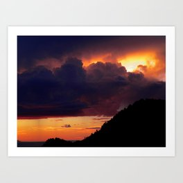 New Mexico Sunset Art Print
