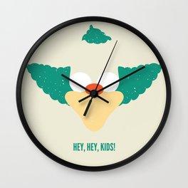 Hey, Hey, Kids! Wall Clock